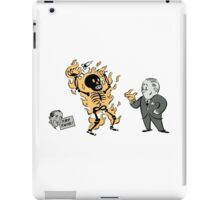 incinerate advert iPad Case/Skin