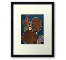 Tribal Women Framed Print