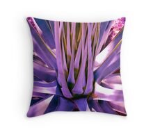 """Blue Agave"" Throw Pillow"