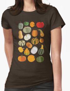 Pumpkins Womens Fitted T-Shirt