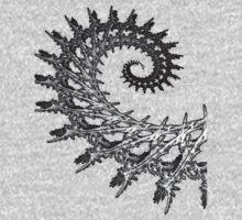 Nemesis - Fractal Spiral One Piece - Long Sleeve