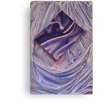 Satin with Macro Insert Canvas Print