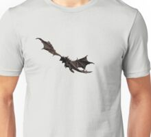 Dragon flying away Unisex T-Shirt