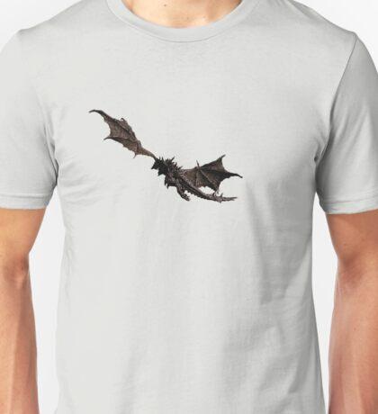 Dragon flying away Unisex T-Shirt