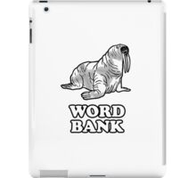 Word Bank iPad Case/Skin