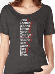 Cylon Jetset (white) Women's Relaxed Fit T-Shirt