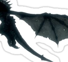 Skyrim - Dragon flying. Sticker