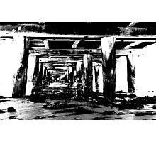 Queenscliff Pier Photographic Print