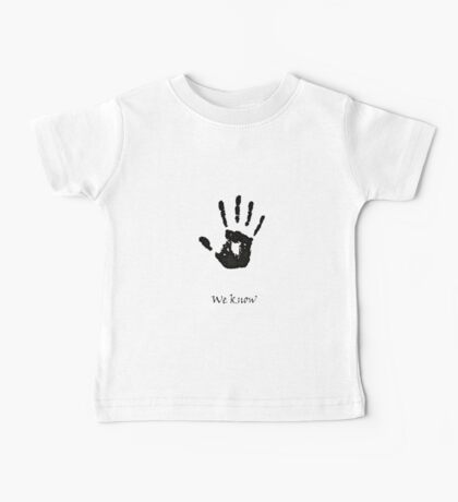 Dark Brotherhood Knows.. You've been Bad! Baby Tee