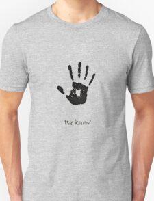 Dark Brotherhood Knows.. You've been Bad! Unisex T-Shirt