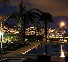 Hotel Quinta Da Bela Vista Pool at Moon Light,  by AnnDixon