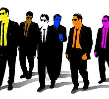 Reservoir Dogs Canvas by aidancheevers