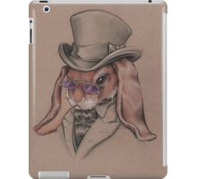 A Sharp Dressed Bunny iPad Case/Skin