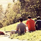Four Boys and A Dog. by Sangeetha A