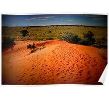 Perfect outback afternoon Poster
