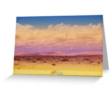 ~To dream in colours~ Greeting Card