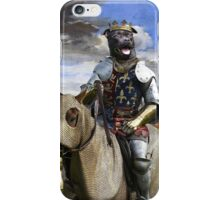 Staffordshire Bull Terrier Art - Call of the King final battle iPhone Case/Skin