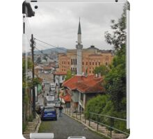 Blue car iPad Case/Skin