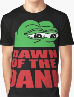 Pepe Frog Dawn of the Dank Graphic T-Shirt