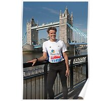 James Cracknell Olympic Gold Medallist Poster