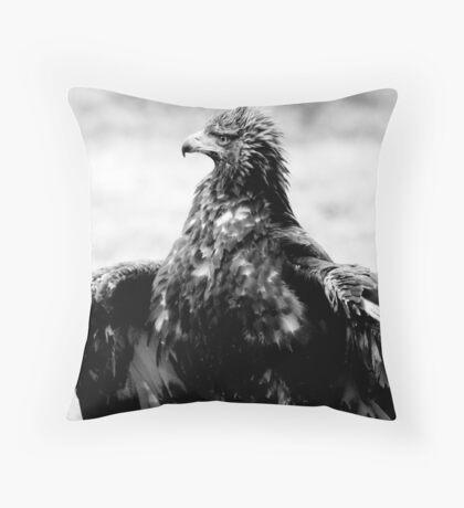 Protecting the kill Throw Pillow