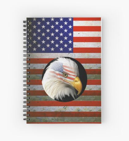 I'M A REAL AMERICAN  Spiral Notebook