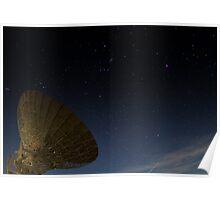 The Dish - Parkes Radio Telescope - NSW Poster