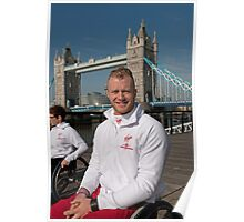 Josh Cassidy Elite Wheelchair Athlete Poster