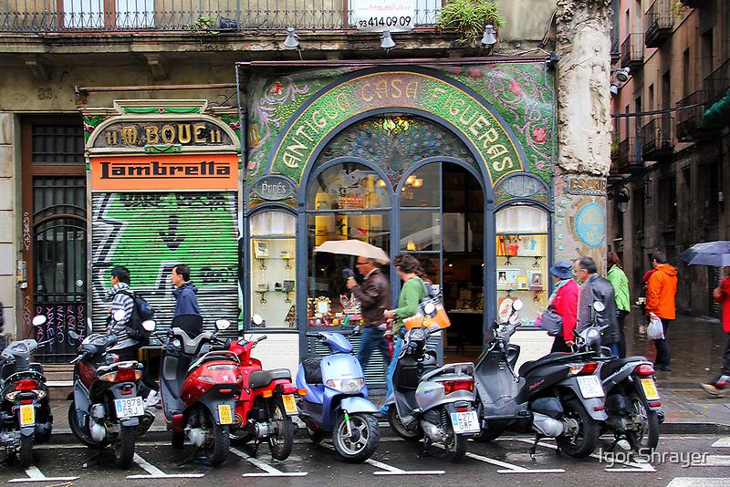 Memories of Spain 6 - Antigua Casa Figueras in Barcelona by Igor Shrayer