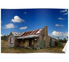 Homestead Gone - Midlands, Tasmania Poster
