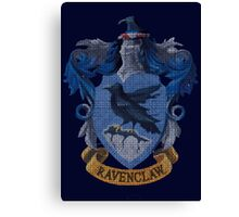 Ravenclaw - Faux Embroidery Canvas Print