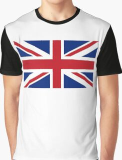 Union Jack, Flag of the United Kingdom, Britain, British flag, Pure & Simple Graphic T-Shirt