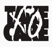 Take Care XO (Black) by Faded Fabrics