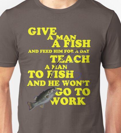 Go Fishing! Unisex T-Shirt