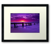 """Twilight's Finale"" Framed Print"