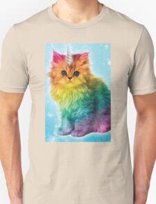 Unicorn Rainbow Cat Kitten Funny T-Shirt
