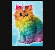 Unicorn Rainbow Cat Kitten Funny Unisex T-Shirt