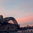 Sydney Sunset  by AreEsGee