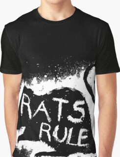 Rats Rule Graphic T-Shirt