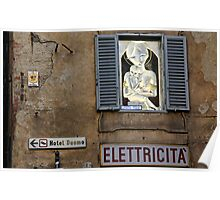 Electric Madonna Poster