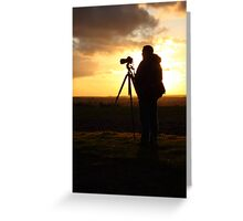 500D Shoots 5D Mark III Greeting Card