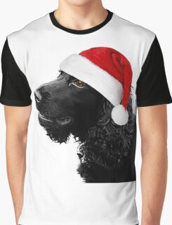 Merry Christmas Cocker  Graphic T-Shirt