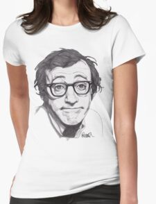 Woody Allen Womens Fitted T-Shirt