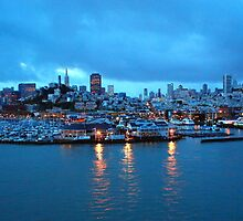 San Francisco in early morning by Hans Bürkle
