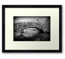 Lakeland Packhorse Bridge Framed Print