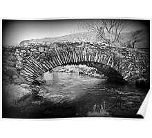 Lakeland Packhorse Bridge Poster
