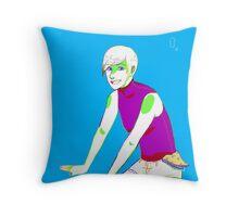 Rainbow Girl Throw Pillow