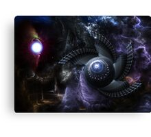 When Universes Collide Canvas Print