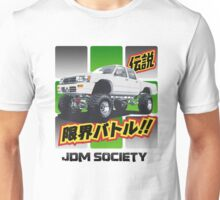 1992 Hilux Double Cab with Lift Kit Unisex T-Shirt