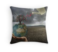 Celebrate earth day...everyday! Throw Pillow